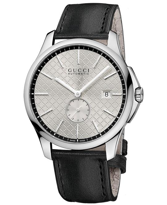 Gucci G-Timeless   Men's Automatic Leather Watch 40mm