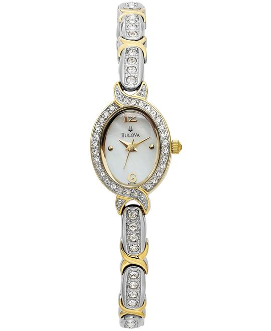 Bulova Women's Two-Tone Watch 17mm