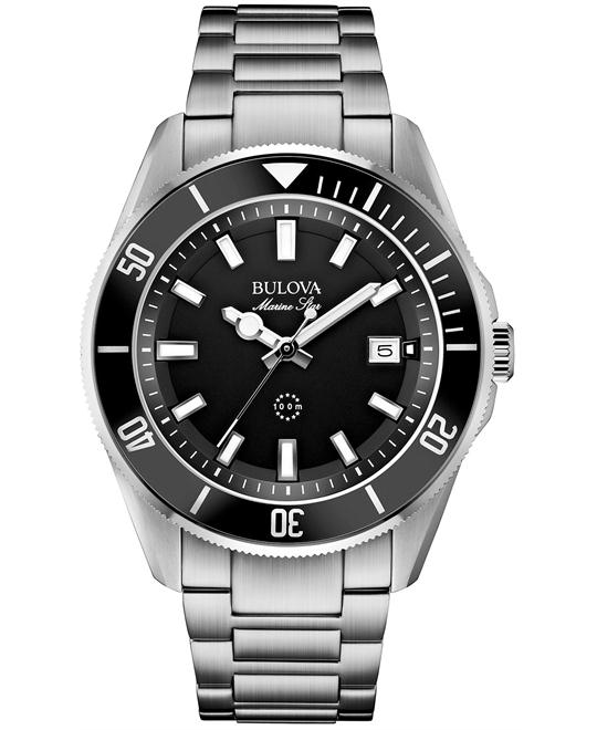 Bulova Marine Stainless Men's Watch 43mm