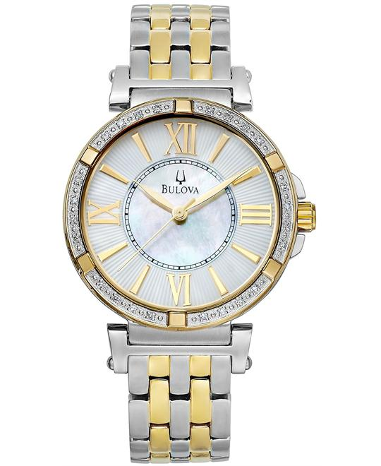 Bulova Women's Diamond Watch 38mm