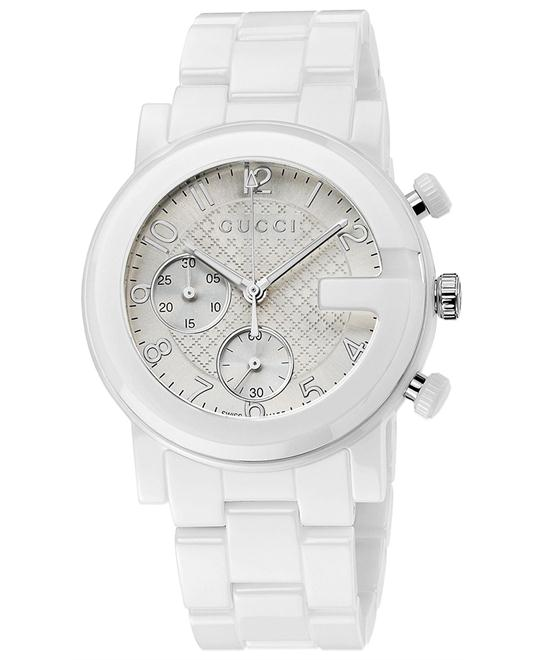 Gucci G-Chrono  Men's Ceramic Bracelet watch 39mm