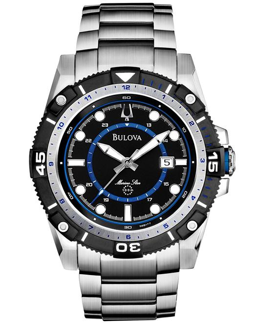 Bulova Men's Marine Star Bracelet Watch 44mm
