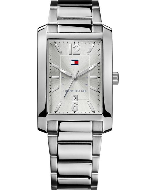 Tommy Hilfiger Men's Silver Watch 30mm
