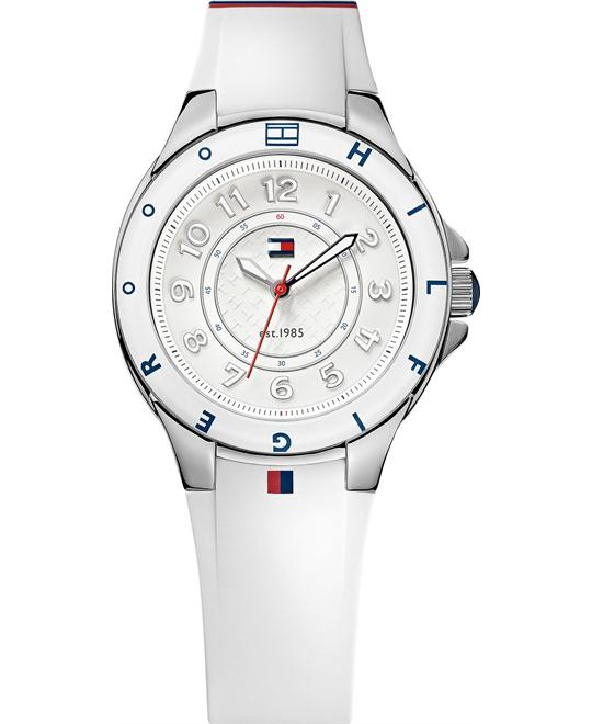 Tommy Hilfiger Women's White Silicone 34mm