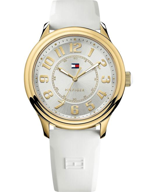 Tommy Hilfiger Women's White Silicone 40mm