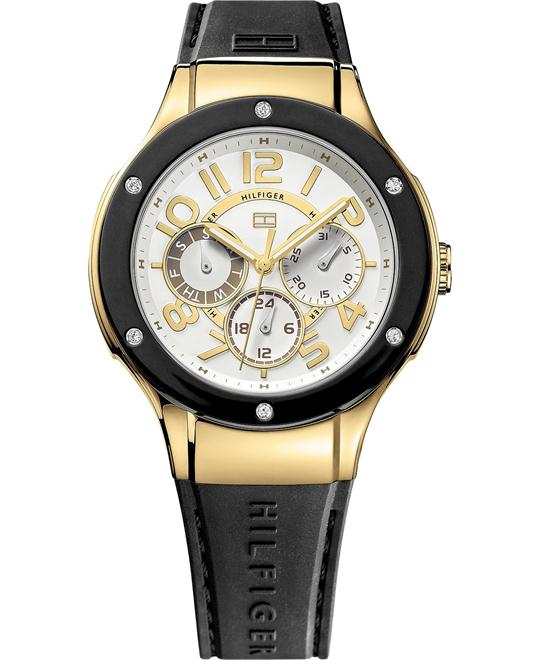 Tommy Hilfiger Women's Sport Silicone 39mm