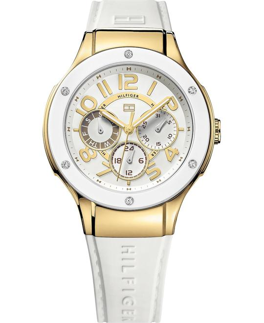 Tommy Hilfiger Women's Sport White Silicone 39mm
