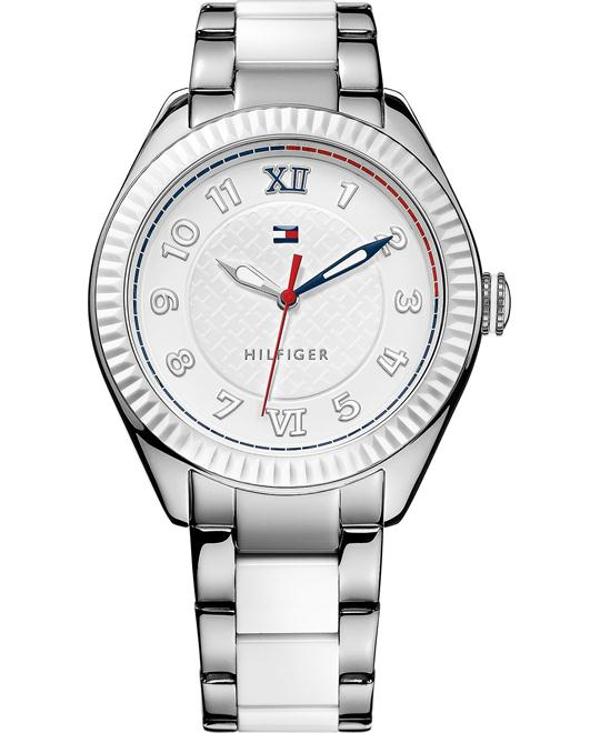 Tommy Hilfiger Women's White 41mm