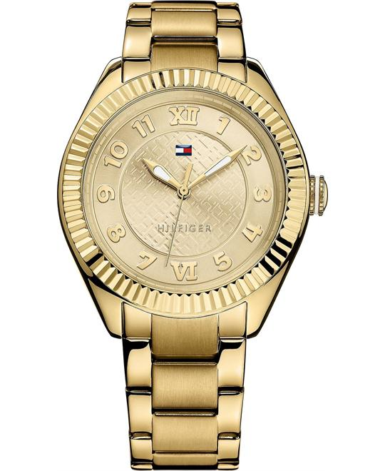 Tommy Hilfiger Women's Gold Stainless 41mm