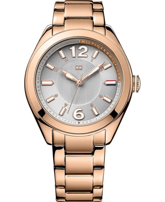 Tommy Hilfiger Women's Rose Gold, 41mm