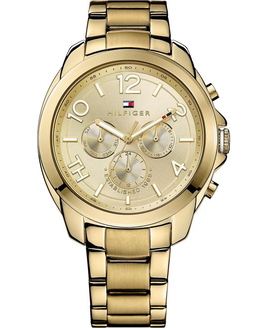 Tommy Hilfiger Women's Gold, 42mm