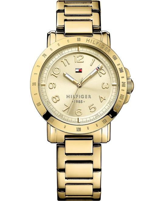 Tommy Hilfiger Women's Goldb, 38mm