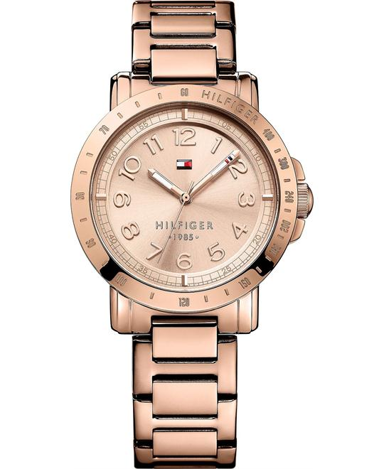 Tommy Hilfiger Women's Rose Gold, 38mm