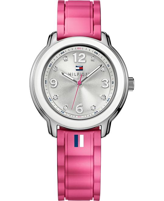 Tommy Hilfiger Women's Pink Silicone 36mm