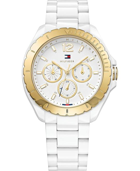 Tommy Hilfiger Women's White, 40mm