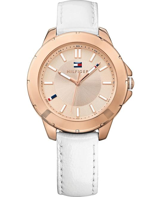Tommy Hilfiger Women's White, 38mm