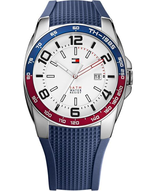 Tommy Hilfiger Men's Navy Silicone 44mm