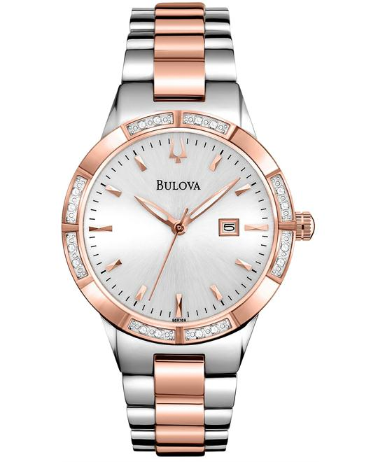 Bulova Women's Diamond Watch 32mm