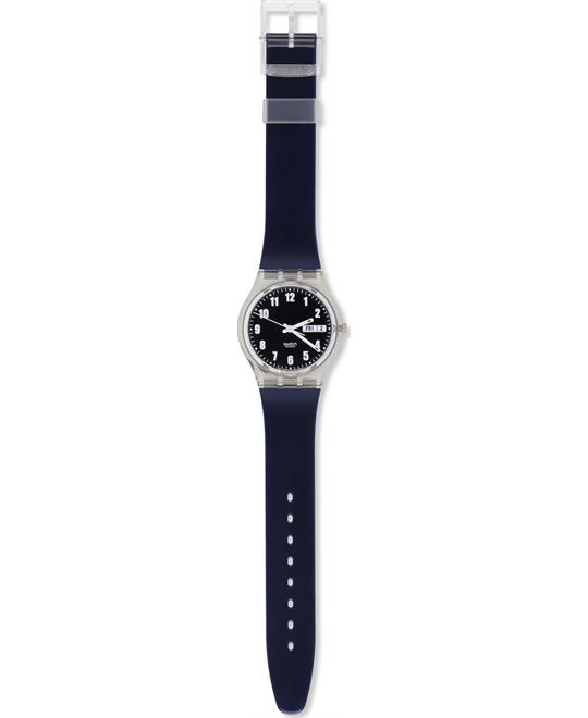 1999 Swatch Watch Standard Blue Nite