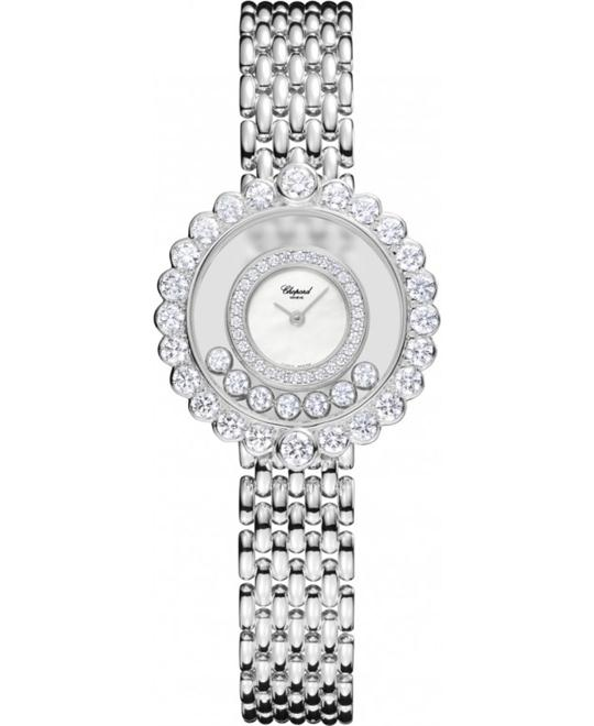 đồng hồ Chopard 204180-1001 HAPPY DIAMONDS 18-KARAT 27mm