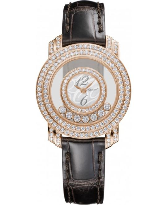 Chopard 209245-5001 HAPPY DIAMONDS 18-KARAT 30mm