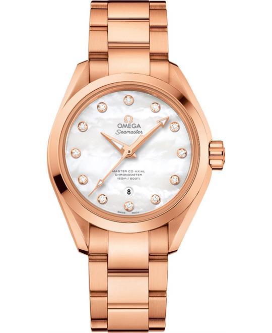 OMEGA 231.50.34.20.55.001 Seamaster Aqua Terra Watch 34mm
