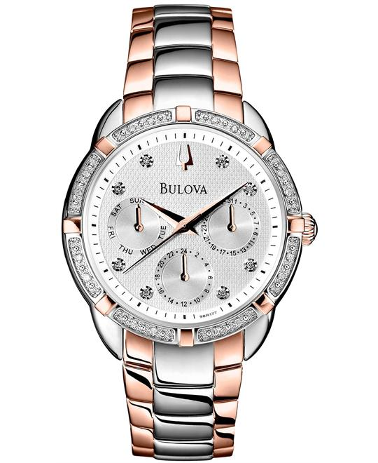 Bulova Women's Diamond Multi-Function Watch 36mm