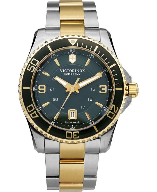VICTORINOX Swiss Army Maverick GS Green Watch 43mm