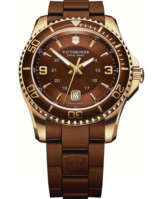 Victorinox Swiss Army Men's Rubber Strap 43mm