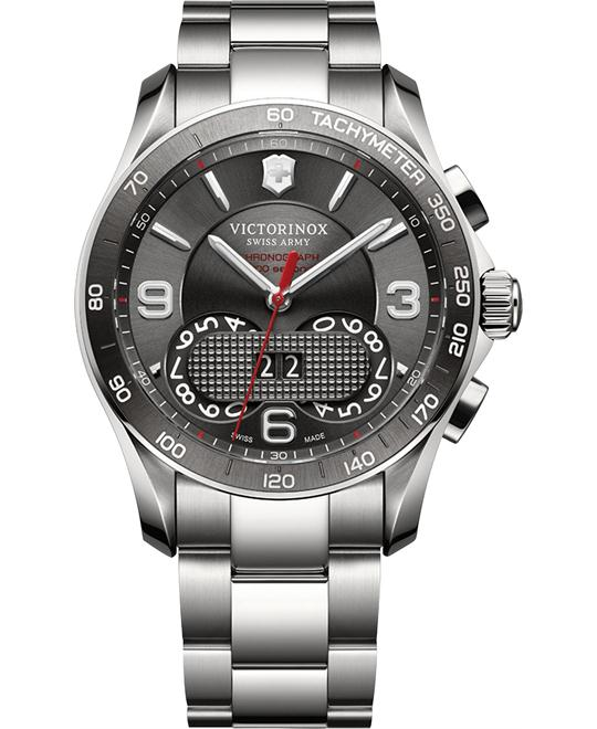 VICTORINOX Swiss Army Chrono Classic Dark Watch 41mm