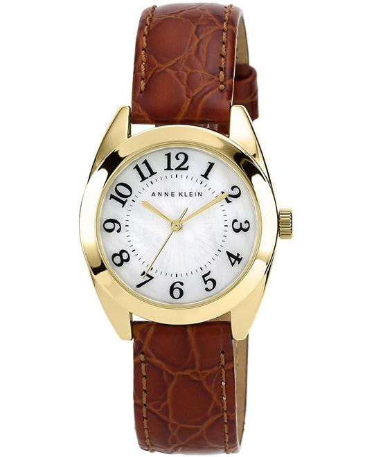Anne Klein Women's Honey Leather Strap 32mm