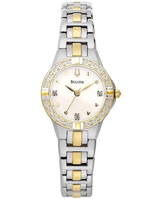 Bulova Women's Diamond Watch 28mm