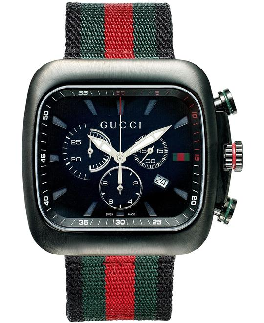 Gucci  Men's Swiss Green Nylon watch 44mm