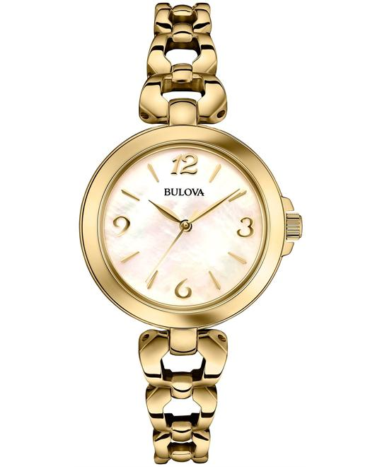 Bulova Women's Gold Watch 23mm