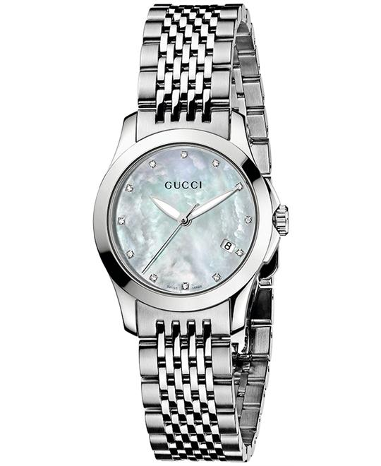 Gucci Women's Swiss Stainless Steel 27mm