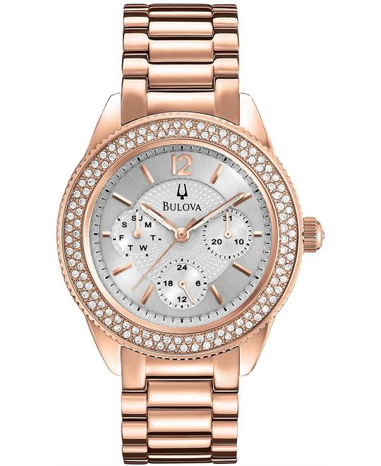 Bulova Women's Multi-Function Rose Gold Watch 38mm