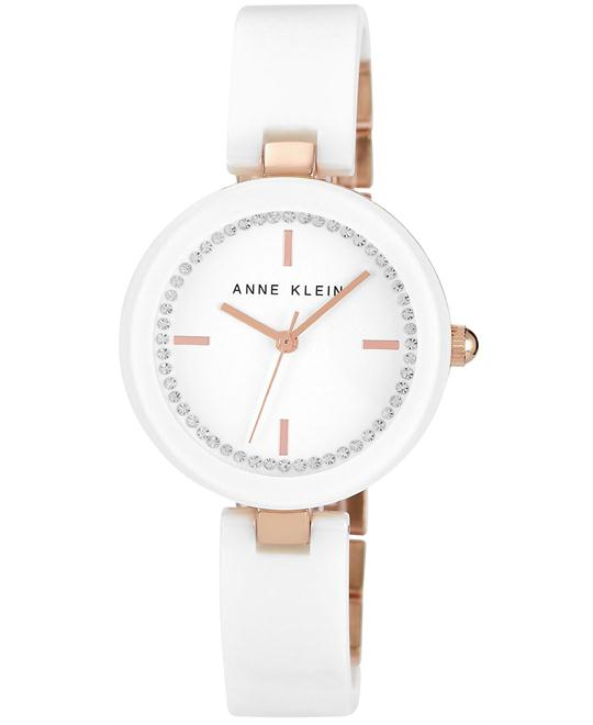 Anne Klein Watch Women's White Ceramic 31mm