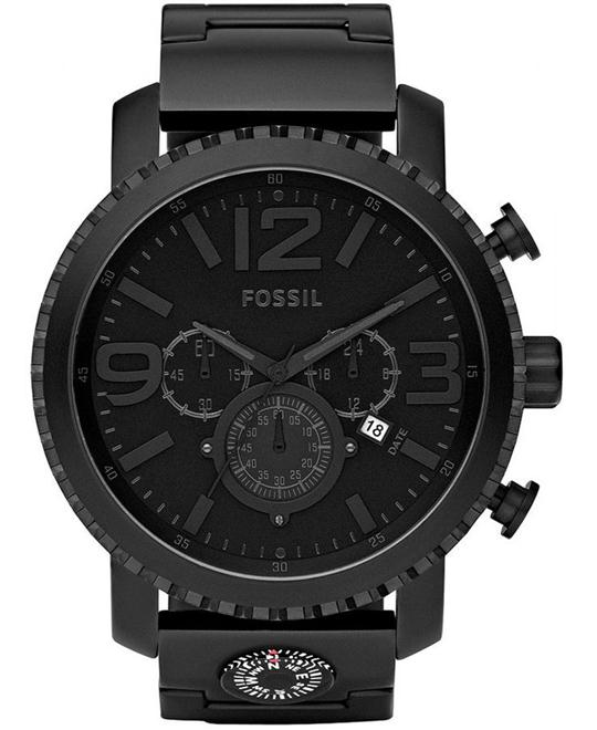 Fossil Gage Plated Stainless Steel Watch 50mm