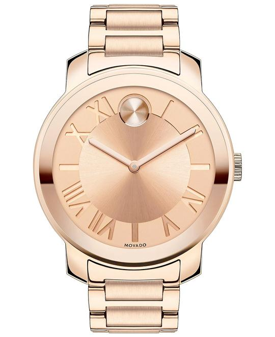 Movado Women's Swiss Rose gold Watch 39mm