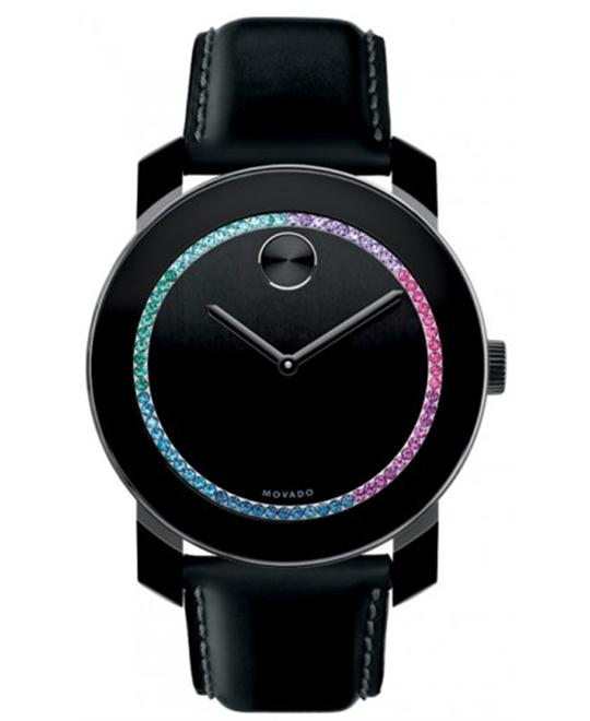 Movado Bold Swiss Black Women's Watch 42mm