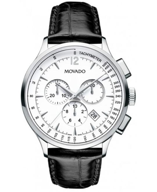 Movado Circa Swiss Chronograph Watch 42mm