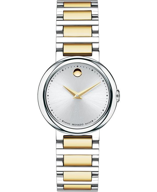 Movado Women's Swiss Concerto Two-Tone 27mm