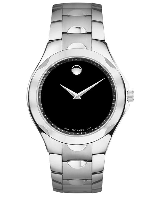 Movado Men's Luno Swiss Stainless Bracelet Watch 40mm