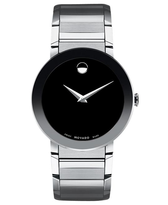 Movado Sapphire Men's Swiss Stainless Watch 38mm