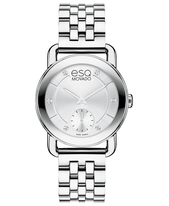 ESQ Movado Women's Swiss Diamond Watch 30mm