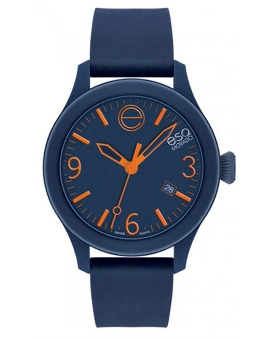 ESQ Movado Unisex Swiss Navy Silicone Watch 43mm