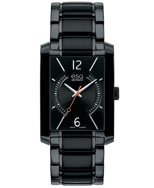 ESQ Movado Watch, Men's Swiss Synthesis 30mm