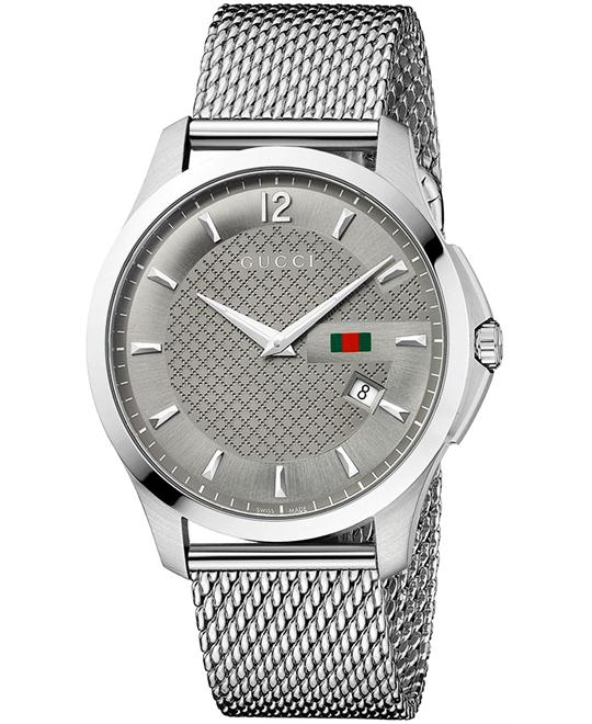 Gucci G Timeless  Men's Swiss Stainless watch 40mm