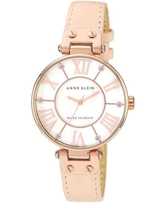Anne Klein Watch, Women's Peach, 34mm
