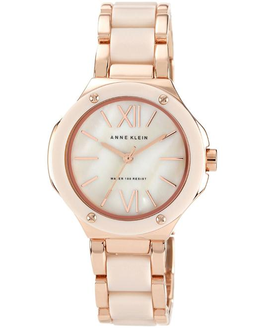 Anne Klein Watch, Women's Rose Gold Bracelet 36mm